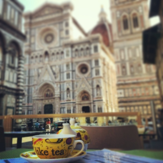 Tea Time near the Duomo